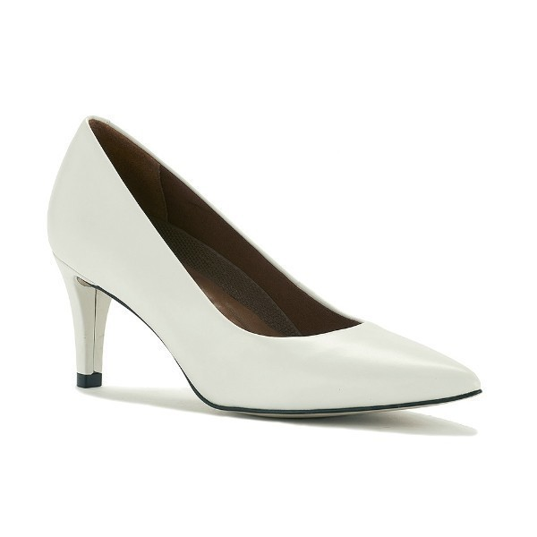 WOMEN'S SOPHIA WHITE LEATHER 2½