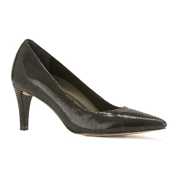 WOMEN'S SOPHIA BLACK LIZARD 2½
