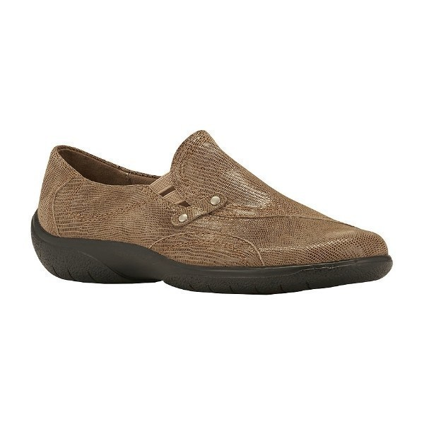 WOMEN'S AMP TAUPE LIZARD SLIP-ON Thumbnail