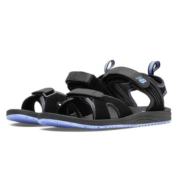 WOMEN'S W2057BP BLK/PURPLE SANDAL Thumbnail