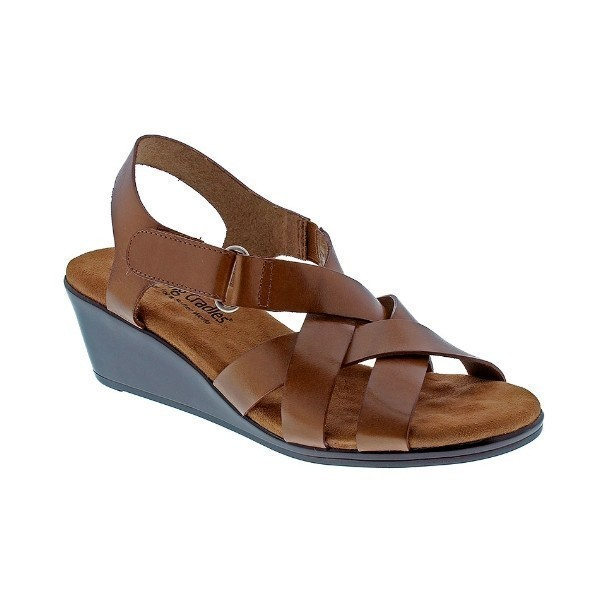 WOMEN'S NEWTON LUGGAGE SOFT LEATHER SANDAL Thumbnail