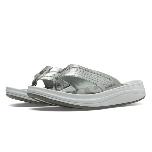 WOMEN'S W6028GR2 GREY THONG SANDAL Thumbnail