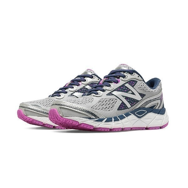 WOMEN'S W840WP3 WHITE/PURPLE RUNNER Thumbnail