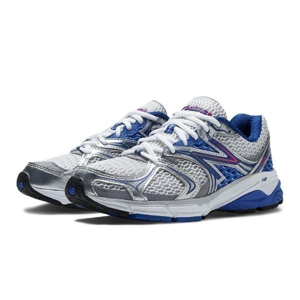 WOMEN'S W940WB2 WHITE/BLUE RUNNING Thumbnail