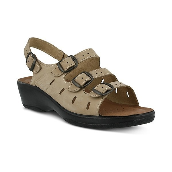 WOMEN'S FLEXUS WILLA BEIGE SANDAL Thumbnail