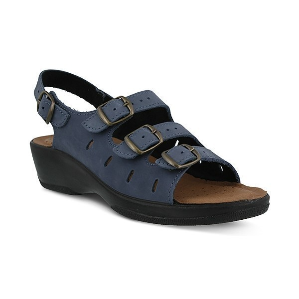 WOMEN'S FLEXUS WILLA NAVY SANDAL Thumbnail