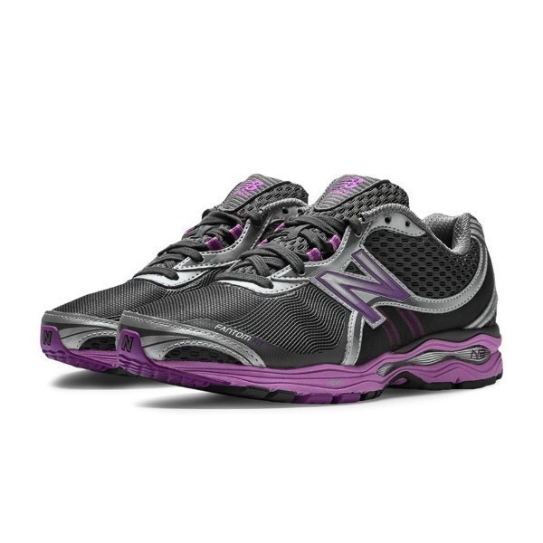WOMEN'S WW1765BP BLACK/PURPLE WALKING Thumbnail