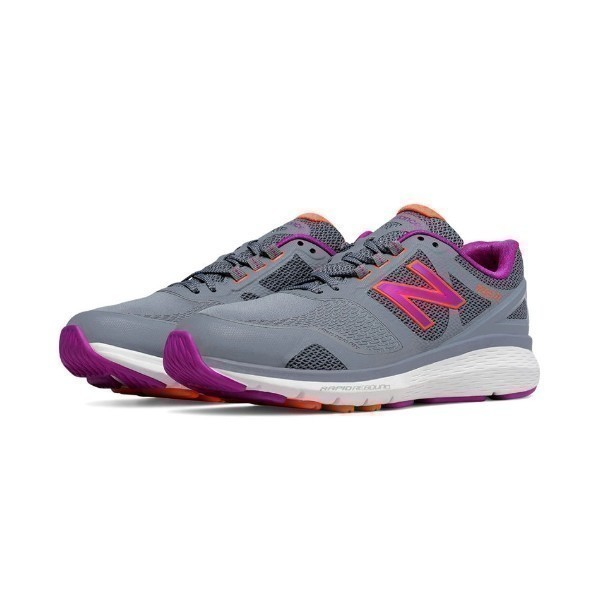 WOMEN'S WW1865GY GREY/SILVER/PINK WALKING Thumbnail