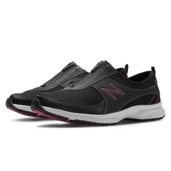 WOMEN'S WW565BP EVERLIGHT ZIP BLACK/PINK WALK Thumbnail