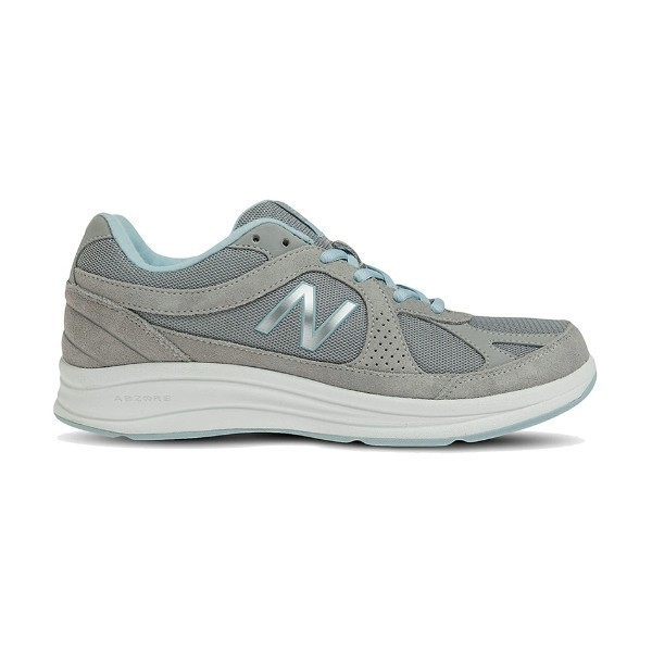 WOMEN'S WW877SB SILVER/BLUE WALKING Thumbnail