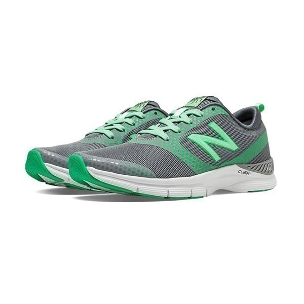WOMEN'S WX711GP SILVER/GREEN TRAINER Thumbnail