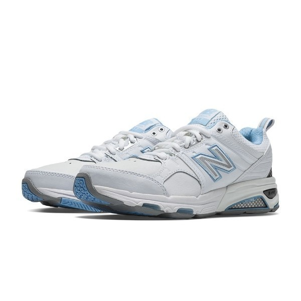 WOMEN'S WX857WB WHITE/BLUE TRAINING Thumbnail
