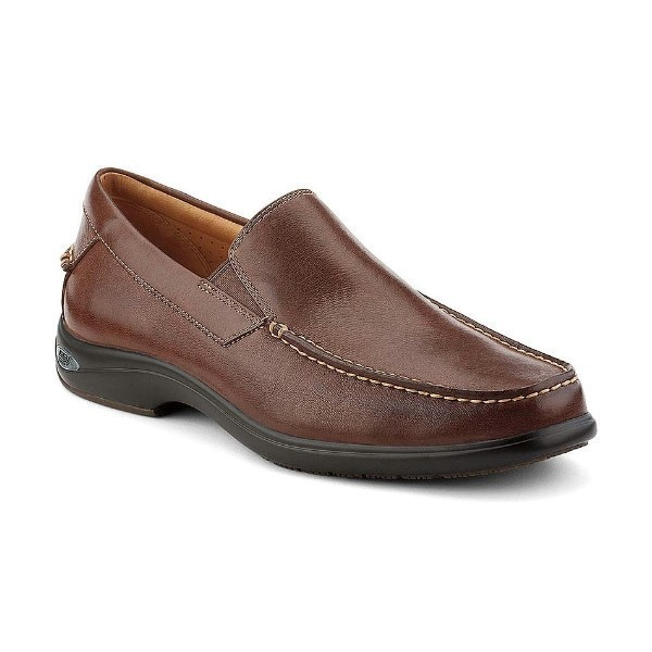 MEN'S GOLD CUP BOOTHBAY TAN LEATHER SLIP-ON Thumbnail