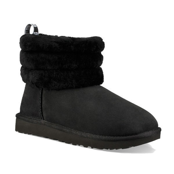WOMEN'S CLASSIC MINI FLUFF QUILTED BLACK Thumbnail