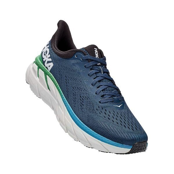 MEN'S CLIFTON 7 MOONLIT OCEAN (WIDE) SNEAKER Thumbnail