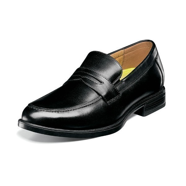 MEN'S MIDTOWN PENNY BLACK DRESS LOAFER Thumbnail