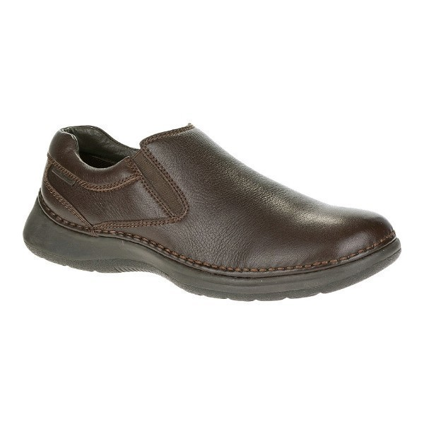 MEN'S LUNAR II BROWN LEATHER CASUAL SLIP-ON Thumbnail