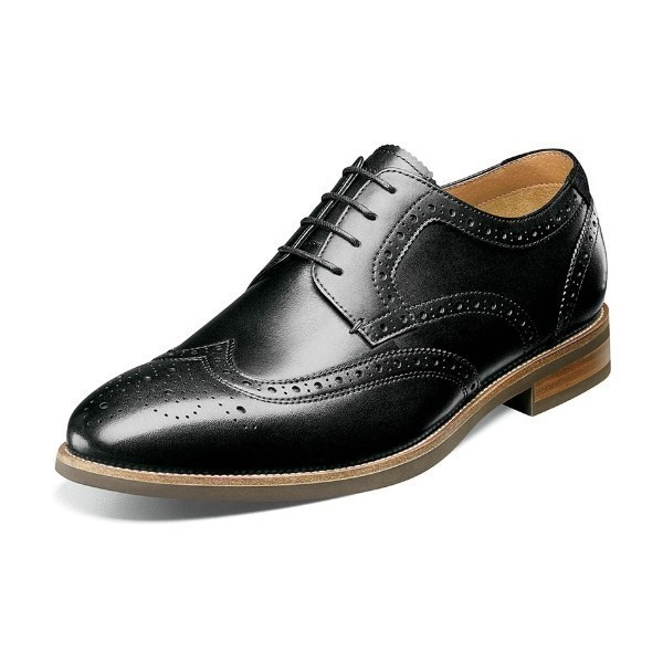 MEN'S UPTOWN BLACK WINGTIP DRESS LACE Thumbnail