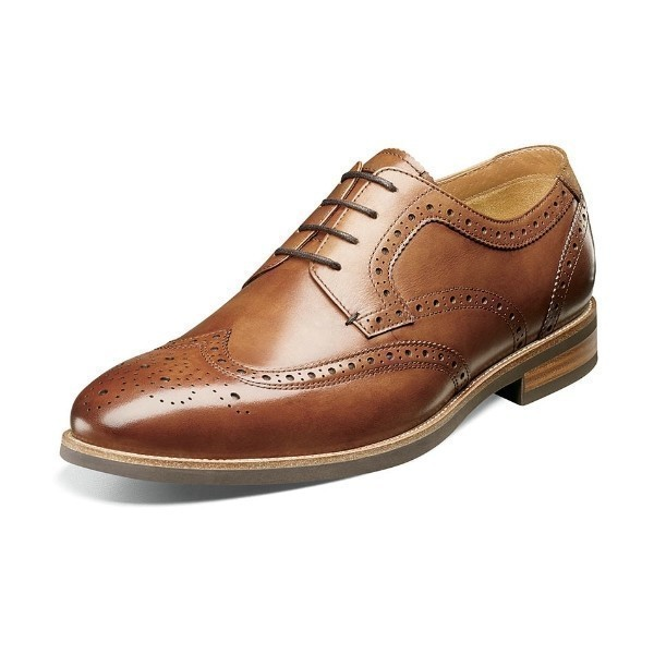 MEN'S UPTOWN COGNAC WINGTIP DRESS LACE Thumbnail