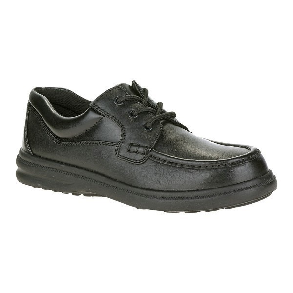 MEN'S GUS BLACK LEATHER CASUAL LACE-UP Thumbnail