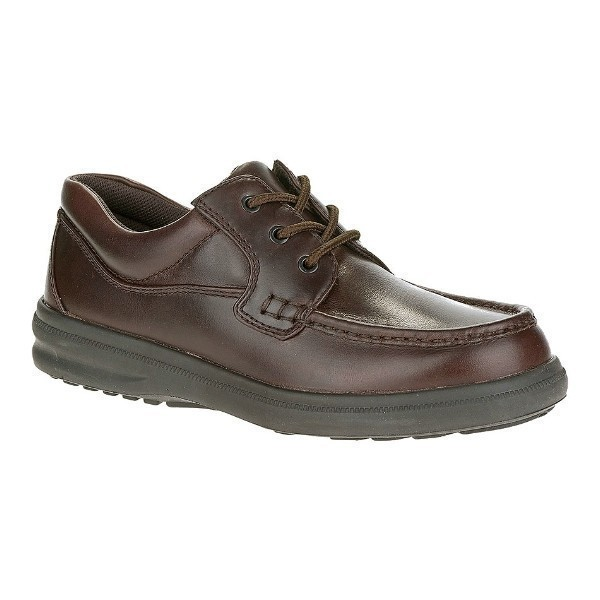 MEN'S GUS DK BROWN LEATHER CASUAL LACE-UP Thumbnail