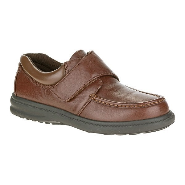 MEN'S GIL TAN LEATHER HOOK AND LOOP CASUAL Thumbnail