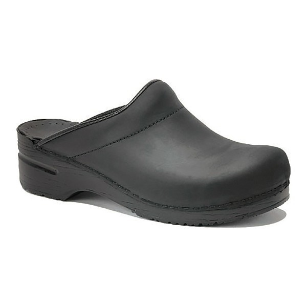 MEN'S KARL BLACK OILED CLOG Thumbnail