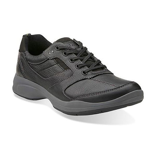 MEN'S WAVEKOREY FLY BLACK LEATHER LACE CASUAL Thumbnail