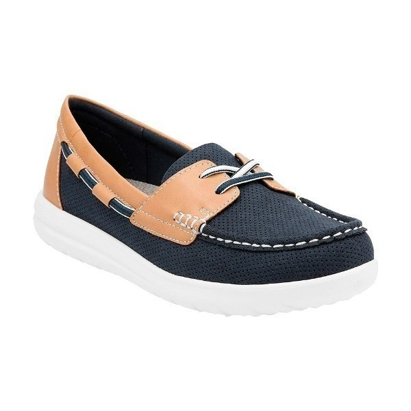 WOMEN'S JOCOLIN VISTA NAVY PERF BOAT SHOE Thumbnail