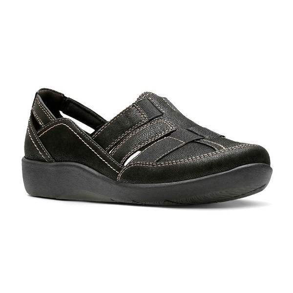 WOMEN'S SILLIAN STORK BLACK CASUAL SLIP-ON Thumbnail