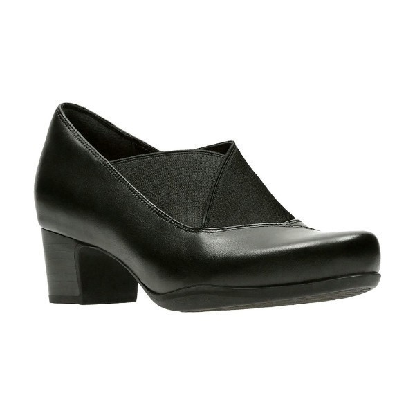 WOMEN'S ROSALYN OLIVIA BLACK DRESS SLIP-ON Thumbnail