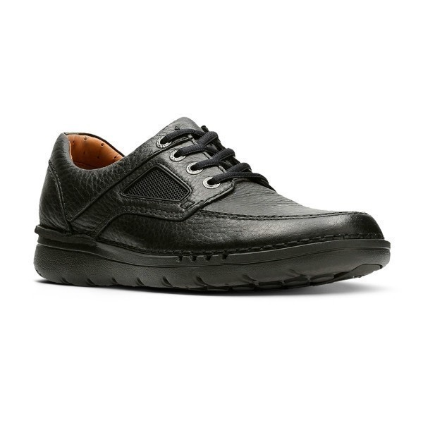 MEN'S UN.NATURE TIME BLACK LEATHER CASUAL Thumbnail
