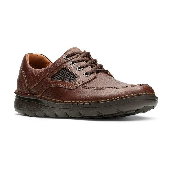 MEN'S UN.NATURE TIME BROWN LEATHER CASUAL Thumbnail