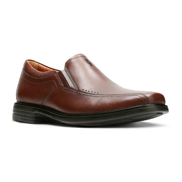 MEN'S UN.SHERIDAN GO BROWN DRESS SLIP-ON Thumbnail