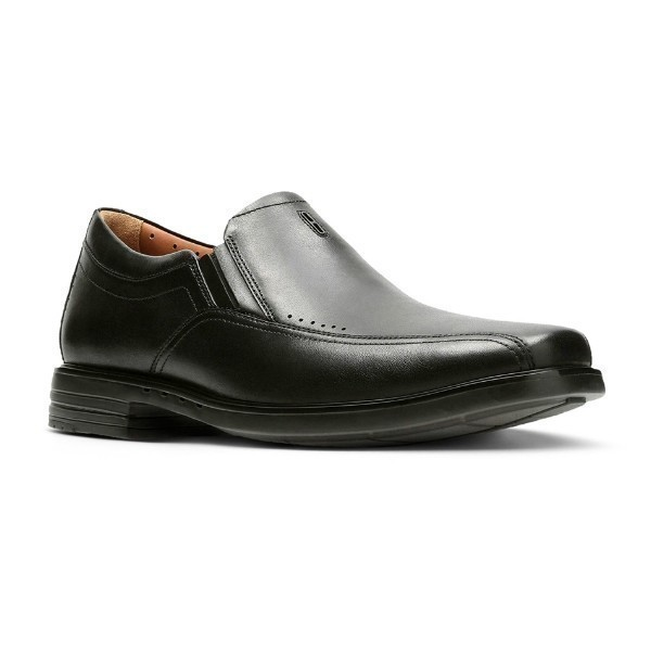 MEN'S UN.SHERIDAN GO BLACK DRESS SLIP-ON Thumbnail