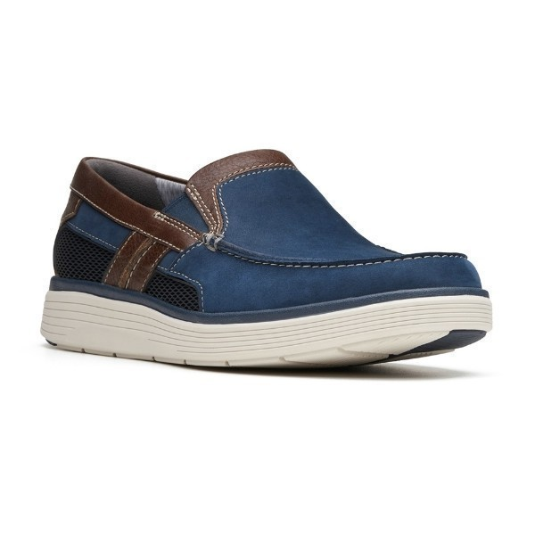 MEN'S UN.ADOBE FREE NAVY CASUAL SLIP-ON Thumbnail