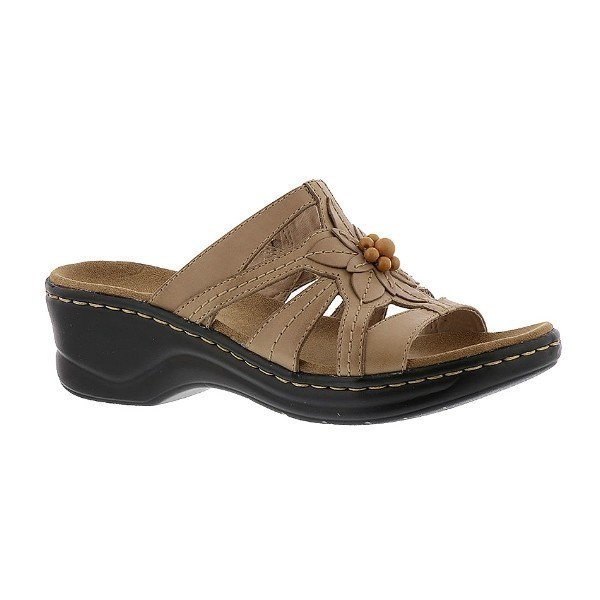 WOMEN'S LEXI MYRTLE SAND LEATHER SANDAL Thumbnail