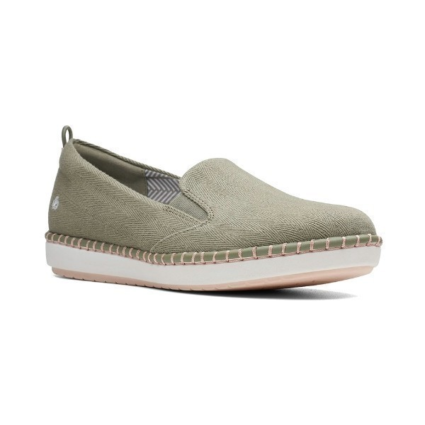 WOMEN'S STEP GLOW SLIP DUSTY OLIVE CASUAL Thumbnail