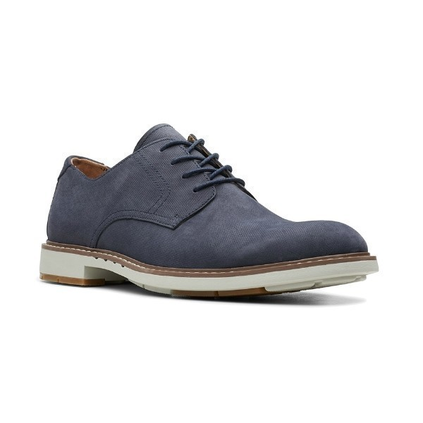 MEN'S UN.ELOTT LACE NAVY NUBUCK DERBY SHOE Thumbnail