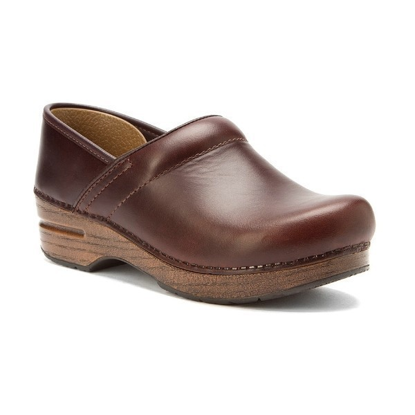 WOMEN'S WIDE PROFESSIONAL OILED ESPRESSO CLOG Thumbnail