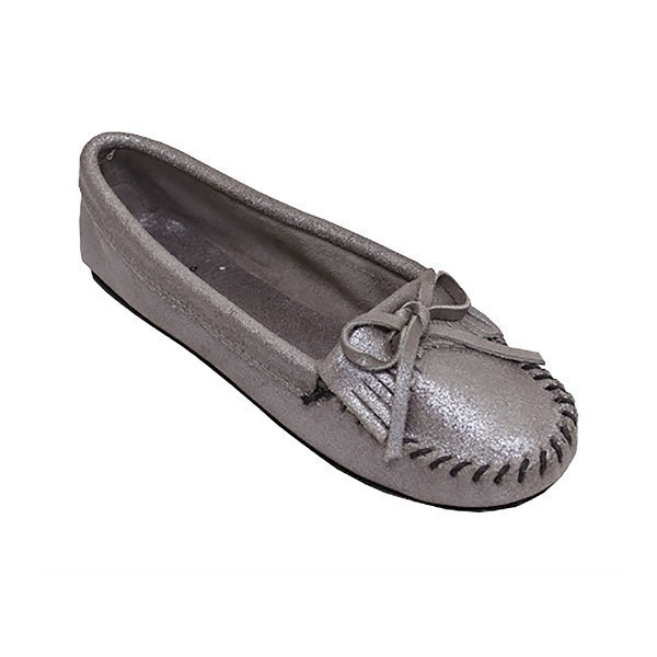 WOMEN'S KILTY HARDSOLE METALLIC MOCCASIN Thumbnail