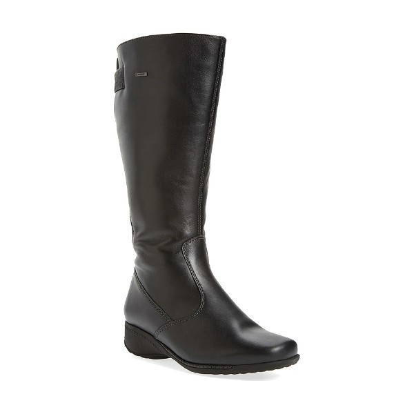 WOMEN'S LESLIE BLACK TALL DRESS BOOT Thumbnail