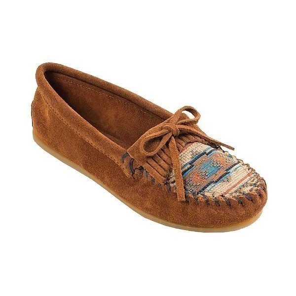 WOMEN'S EL PASO II BROWN SUEDE MOCCASIN Thumbnail