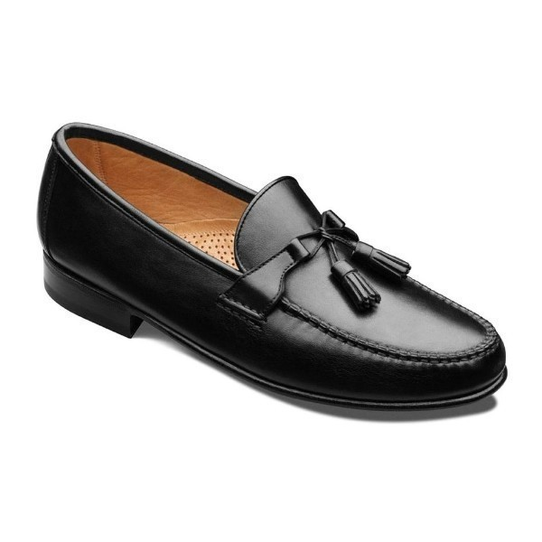 MEN'S URBINO BLACK CALF DRESS SLIP-ON Thumbnail