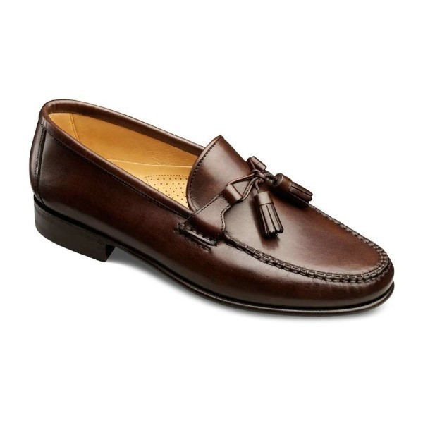 MEN'S URBINO BROWN  CALF DRESS SLIP-ON Thumbnail