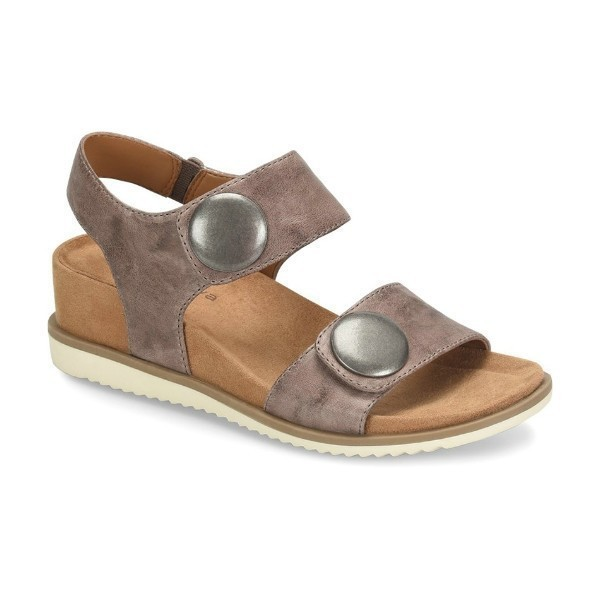 WOMEN'S PAMELA II BETA GREY STRAP SANDAL Thumbnail