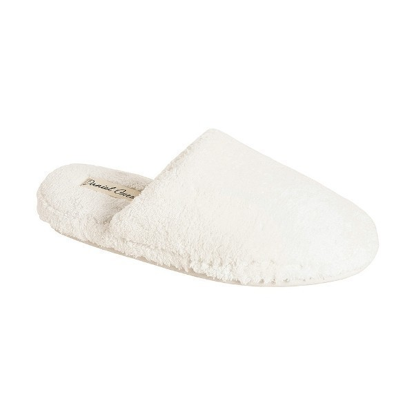 WOMEN'S ADDIE WHITE TERRYCLOTH SLIPPER Thumbnail