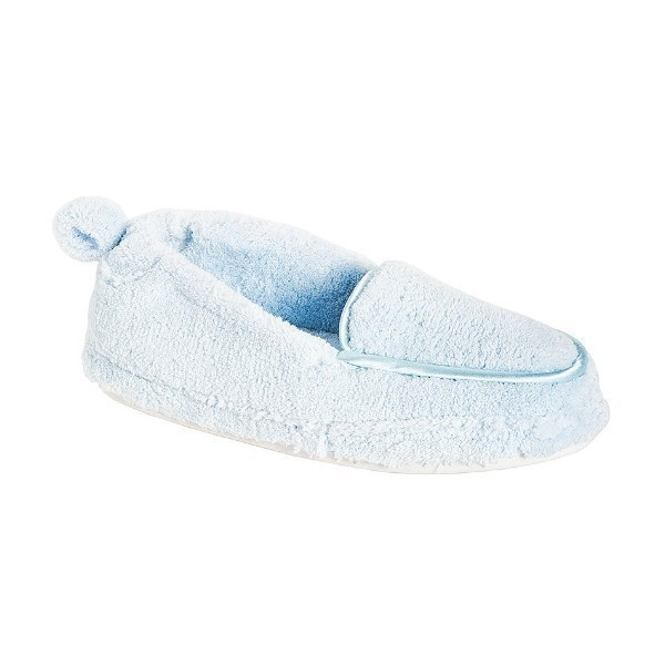 WOMEN'S ALEXA BLUE TERRYCLOTH SLIPPER Thumbnail