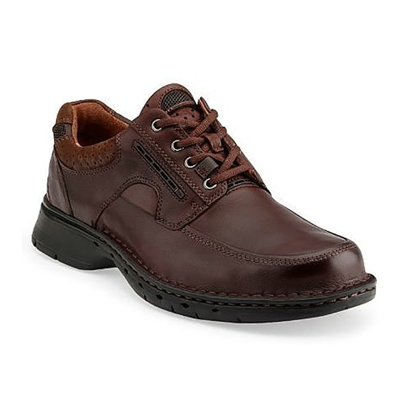 MEN'S UN.BEND BROWN LEATHER LACE CASUAL Thumbnail
