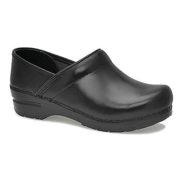 WOMEN'S WIDE PROFESSIONAL CABRIO BLACK CLOG Thumbnail